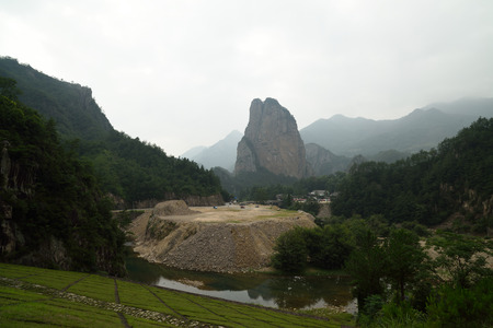 Shiwei on nanxi River Rock