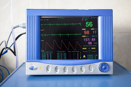 Foto de Health care portable monitoring equipment - Imagen libre de derechos