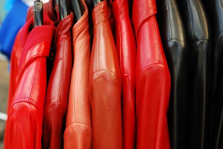 Foto de leather jackets   - Imagen libre de derechos