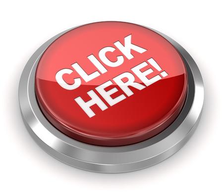 Photo pour Push Button - Click Here - image libre de droit