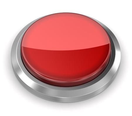 Photo pour Push Button - Blank - image libre de droit