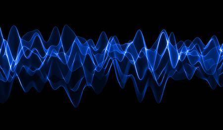 Photo pour Blue Wave - image libre de droit