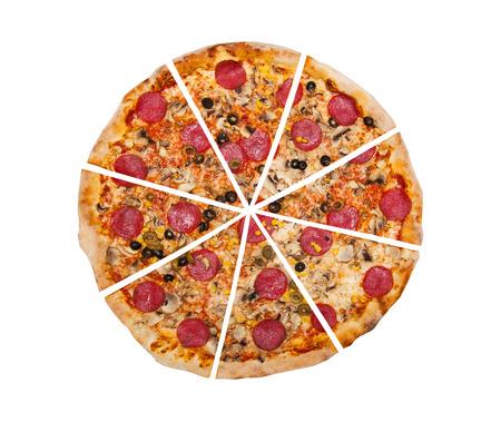 Photo pour Pizza - image libre de droit