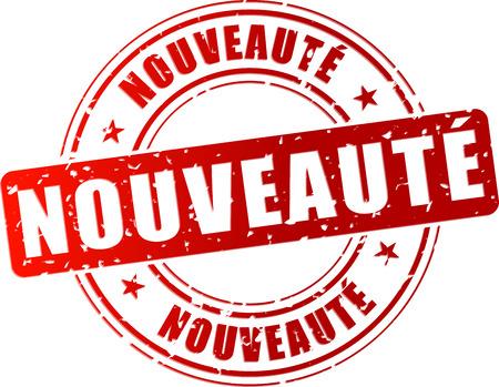 Illustration pour Vector illustration of red novelty stamp icon - image libre de droit