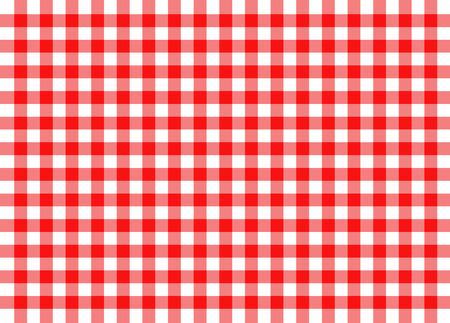 Illustration pour illustration of red traditional gingham concept background - image libre de droit