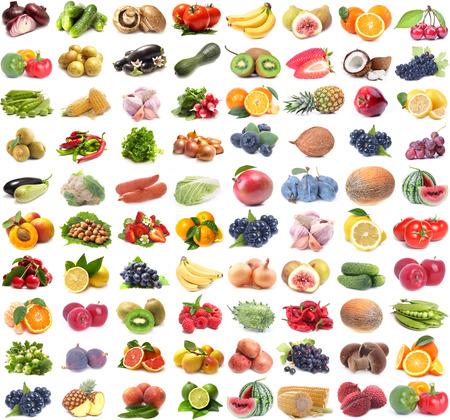 Photo pour fruits and vegetables - image libre de droit