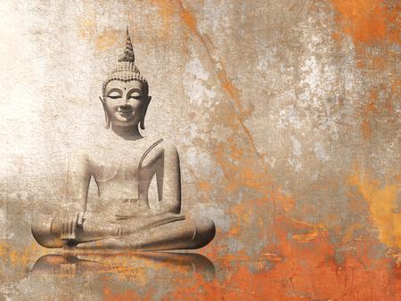 Photo pour Buddha - meditation background - image libre de droit