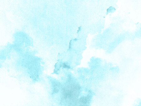 Photo for Blue watercolor background texture - Royalty Free Image