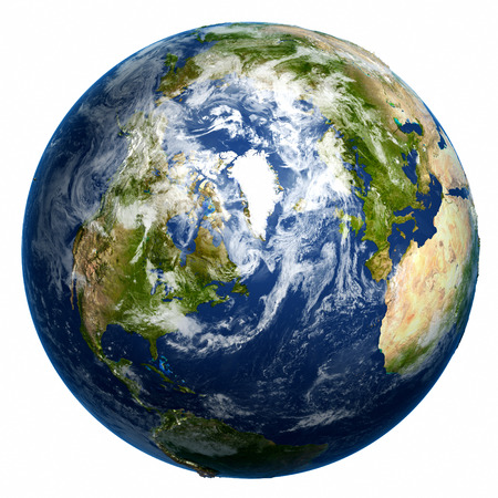 Photo pour Earth globe - image libre de droit