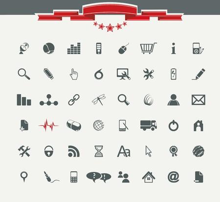 Illustration for Quality icon Set  - Royalty Free Image