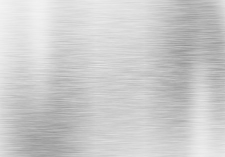 Foto de Metal background or texture of brushed steel plate - Imagen libre de derechos