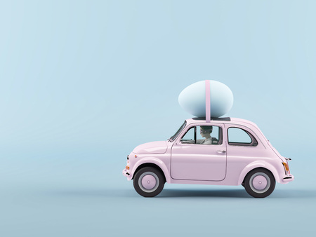 Photo pour easter is coming. 3d rendering - image libre de droit