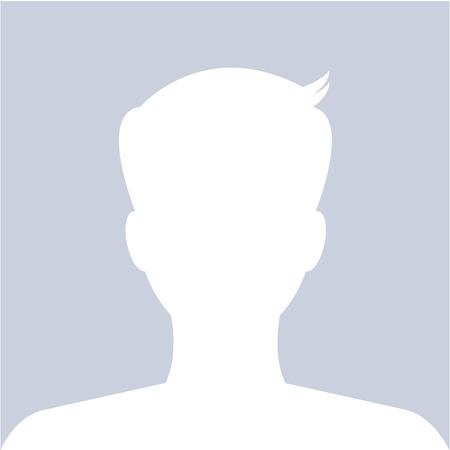 Illustration pour Male avatar profile picture use for social website. Vector. - image libre de droit