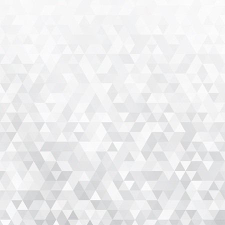 Illustration pour Abstract background made of small gray triangles - image libre de droit