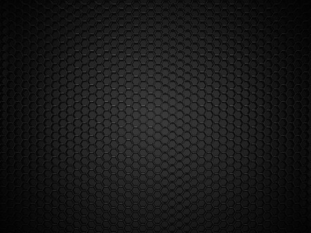 Photo pour Abstract black hexagonal carbon background - image libre de droit