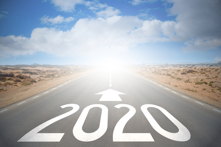 Photo for Road concept - 2020 - Royalty Free Image