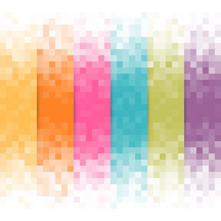 Illustration for Abstract pixel background - Royalty Free Image