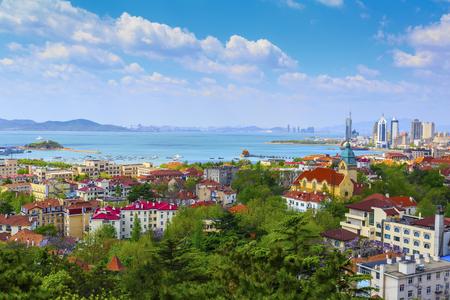 Foto de Qingdao City Scenery - Imagen libre de derechos