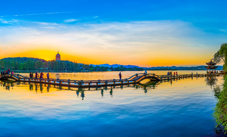 Photo for The scenery of Hangzhou, West Lake - Royalty Free Image