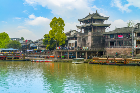 Photo pour Ancient town of Chengdu - image libre de droit