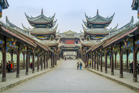 Photo for Ancient town of Chengdu - Royalty Free Image