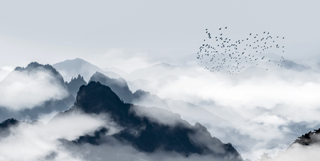 Photo for Mount Huangshan scenery - Royalty Free Image