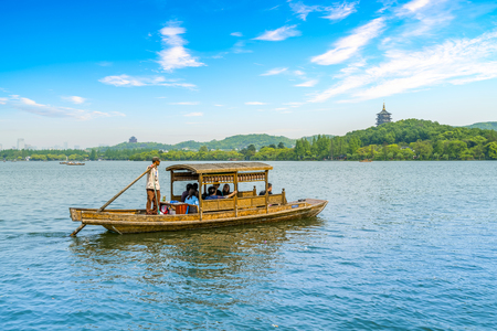 Photo for The landscape of West Lake, Hangzhou - Royalty Free Image