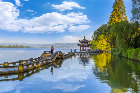 Photo pour Hangzhou West Lake - image libre de droit
