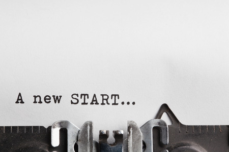 Photo for new start and new life - Royalty Free Image