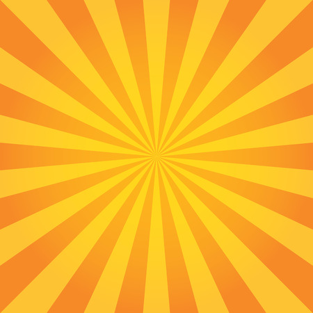 Illustration pour Sun Sunburst Pattern. Retro Background - image libre de droit