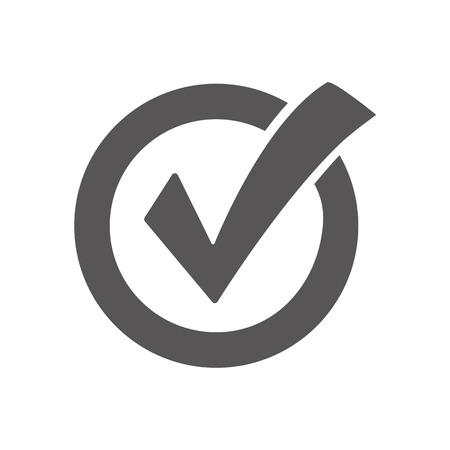 Illustration pour Check mark icon - image libre de droit