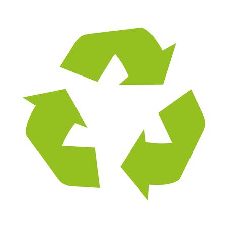 Ilustración de Sign of recycling - Imagen libre de derechos