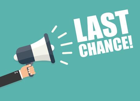 Ilustración de Last Chance - Imagen libre de derechos