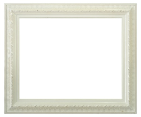 Photo pour Antique frame isolated on white background - image libre de droit
