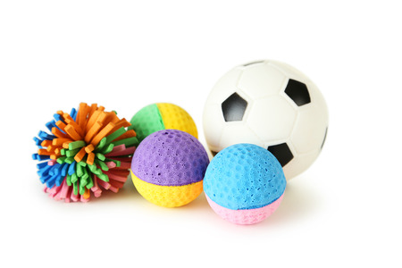 Foto de Balls toy for dog and cat - Imagen libre de derechos