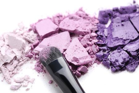 Foto de Makeup eyeshadow isolated on white background - Imagen libre de derechos