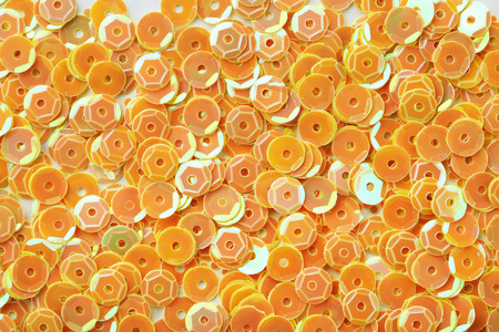 Photo for Background of round sequins - Royalty Free Image