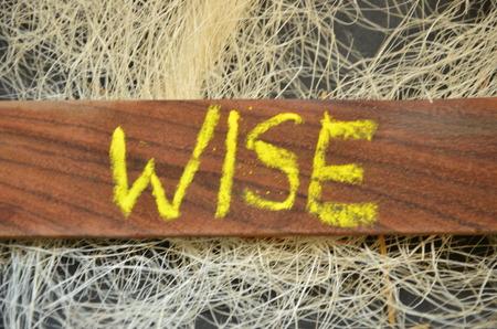 Photo pour WORD WISE - image libre de droit