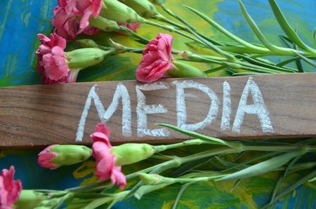 Photo pour WORD MEDIA - image libre de droit