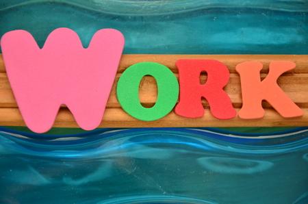 Foto de WORD WORK - Imagen libre de derechos
