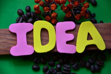 Photo pour Word idea - image libre de droit