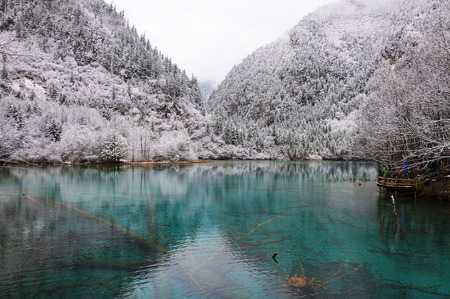 Photo for Jiuzhaigou Wuhuahai - Royalty Free Image