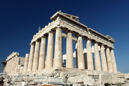 Photo for Parthenon in Acropolis, Athens, Greece  - Royalty Free Image
