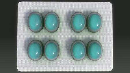 Foto de Sample Tablets top - Imagen libre de derechos