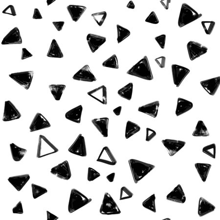 Illustration pour Seamless pattern with  doodle triangles. vector background  for printing, website, fabric, poster, cards - image libre de droit