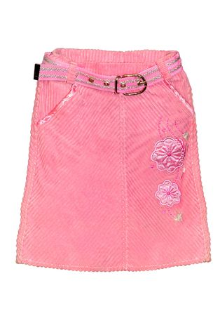 Children\'s clothing pink skirt isolated on white background