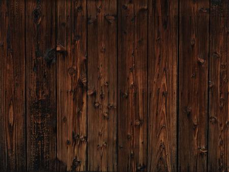 Photo pour Old dark wood wooden wall texture background - image libre de droit