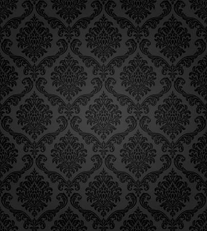 Photo pour Seamless damask pattern  - image libre de droit