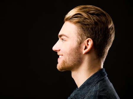 Foto de Studio portrait of a young fashion man - Imagen libre de derechos