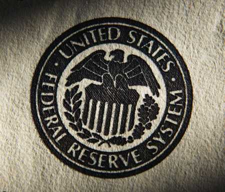 Photo for United States Federal Reserve System symbol.Close up - Royalty Free Image